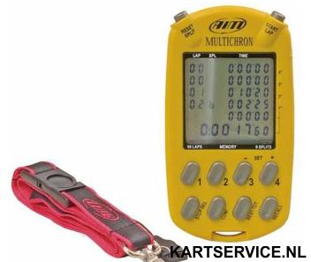 Multichron 4 rijders stopwatch