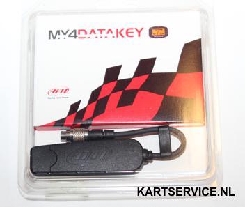 Data download Key voor AIM Mychron 4