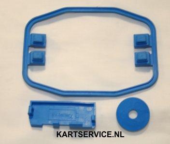MyChron 4 afdichtings set rubber blauw