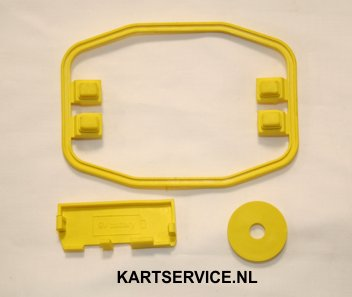 MyChron 4 afdichtings set rubber geel