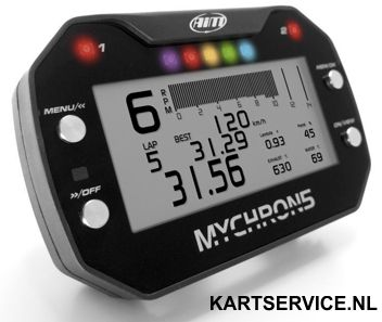 MyChron 5 2T laptimer met GPS (basis kit)