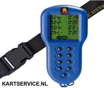 Alfano Kronos stopwatch blauw