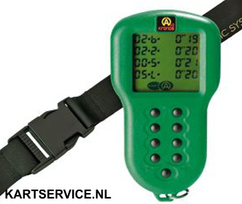 Alfano Kronos stopwatch groen
