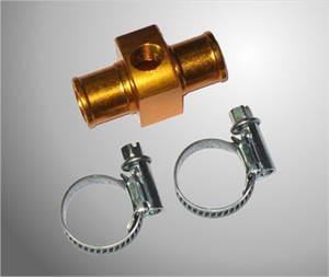 Alfano T-stuk aluminium voor watertemp. sensor 17mm