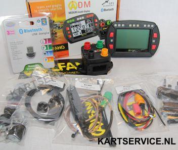 Laptimer kit  ALFANO ADM + BOX BX4 GPS +magn. sensor + RPM