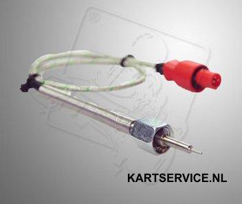 Alfano uitlaat temperatuur sensor ADM type K, M10x1, 35cm