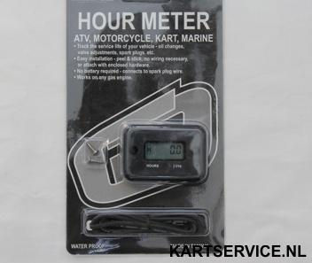 LCD motor uren teller (waterproef, niet resetbaar)