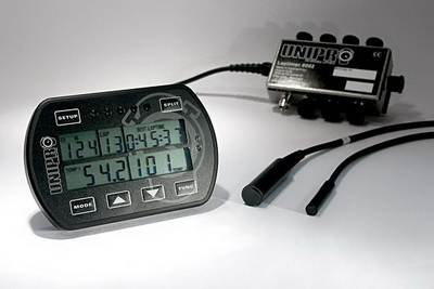 Unipro laptimer 6003 basis - incl. speed sensor