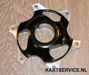 Tandwielsupport 40 mm zwart