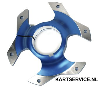 Tandwielsupport 40mm Wildkart blauw