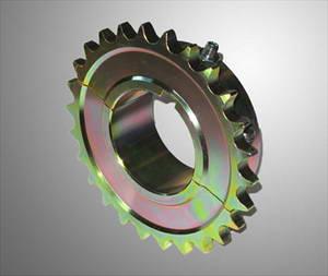 Tandwiel staal 428 split voor 50 mm as 24 tands