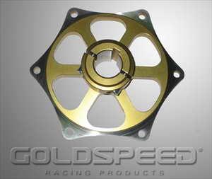 Tandwielsupport 25 mm goud GS