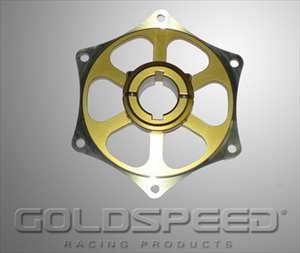 Tandwielsupport 30mm goud GS