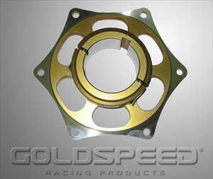 Tandwielsupport 50 mm goud GS