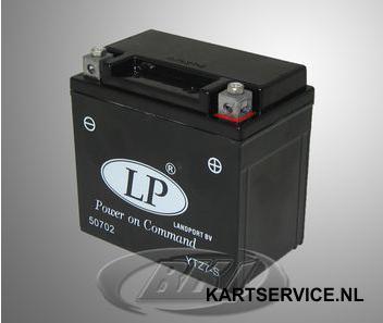 Accu 12V/6Ah LP YTZ7S 113x70x105mm (voor RK1)
