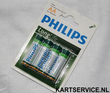 Philips AA batterijen 4 stuks (R06)