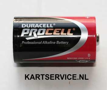 Duracell D batterij (LR20)