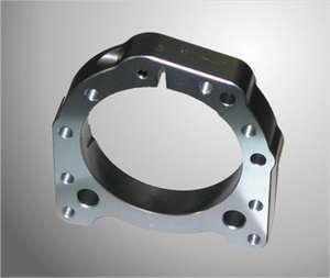 Lagerschaal aluminium voor 50mm lager Titaan