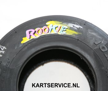 Maxxis Rookie geel achterband (med/hard) 11x5.00-5