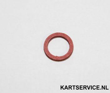 Fiber ring voor tanknippel/moer