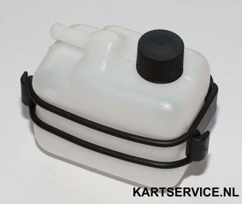 Ontluchtingspotje 1/4 liter compleet met houder