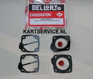 Dellorto benzinepomp revisie set P34