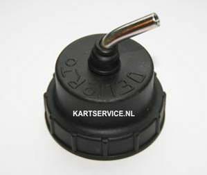 Dellorto VHSB schroefdop voor gasschuif carburateur