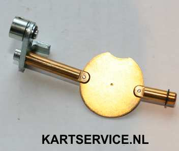 As met gasklep voor IBEA L5 / L6 carburateur