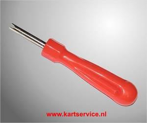 Ventieluitdraaier klein (rood)