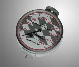 Bandencompound tester (shoremeter) voor meten hardheid banden