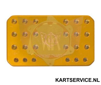 Sproeiermal goud Wildkart voor Dell'Orto carburateur sproeiers
