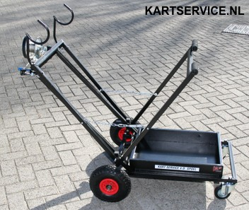 Kartbok Dalmi transporter Semi Automatisch self braking winch
