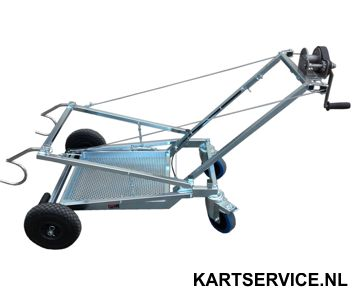 Kartbok Dalmi transporter GV  Semi Automatisch self braking winc