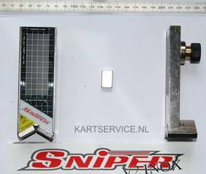 Sniper V2 INOX laseruitlijn set (magnetisch)