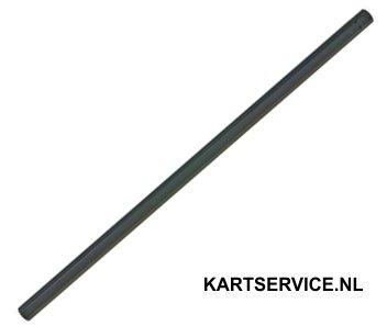 Schakelstang zwart 420/470/480/490/500mm
