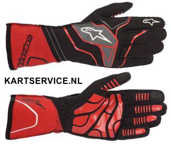 Alpinestars handschoenen Tech 1-KX rood/zwart/wit