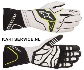Alpinestars handschoenen Tech 1-KX zwart/fluor geel