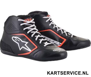 Alpinestars schoenen Tech 1-K START zwart/geel