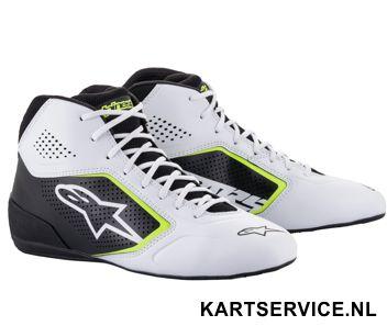 Alpinestars schoenen Tech 1-K START zwart/rood