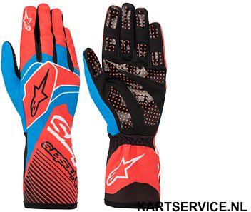 Alpinestars handschoenen Tech 1-K Race BLAUW