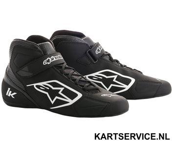 Alpinestars schoenen Tech 1-K zwart/wit