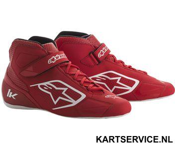 Alpinestars schoenen Tech 1-K zwart/rood