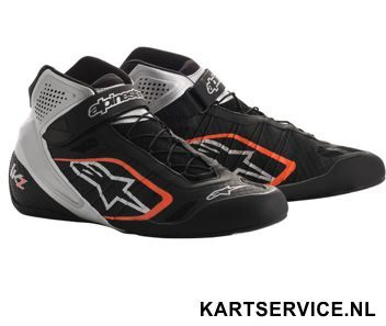 Alpinestars schoenen Tech 1-KX zwart/wit