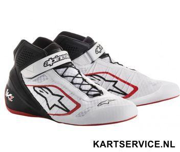 Alpinestars schoenen Tech 1-KX zwart/fluo geel