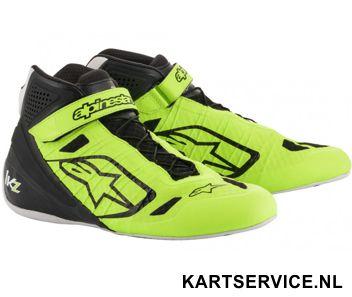 Alpinestars schoenen Tech 1-KX zwart/groen