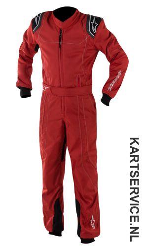 Alpinestars K-MX 9 Kinder overall rood