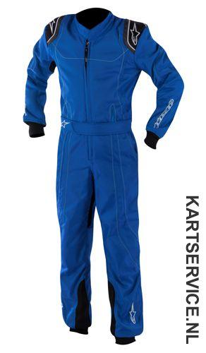 Alpinestars K-MX 9 Kinder overall blauw