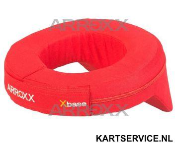 Arroxx nekbeschermer rood met bobbel