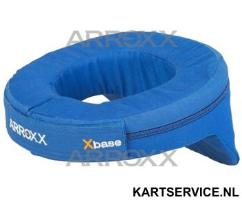 Arroxx nekbeschermer blauw met bobbel