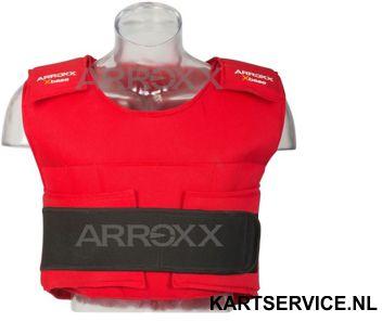 Arroxx bodyprotector rood